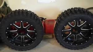 14 Inch Truck Mud Tires New Rims And Tires Youtube