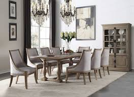 acme dining room furniture 61300 acme dining set eleonore collection in weathered oak