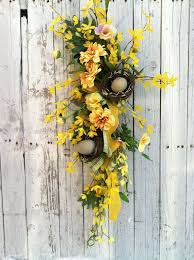 202 best swags images on floral swags door swag and