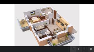 house design plans 3d 3 bedrooms cool 25 x 50 3d house plans 11 3 bedroom apartmenthouse home act