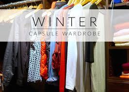 Wardrobe Clothing My 50 Piece Winter Capsule Wardrobe Fashionfriday