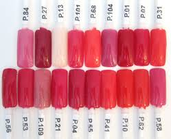 132 best dip nails color swatches images on pinterest color