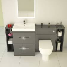 patello 1600 fitted bathroom furniture grey buy online at bathroom