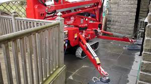 cmc s15 spiderlift back yard access youtube
