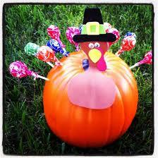 turkey pumpkins diy tootsie pop turkey pumpkin tip junkie