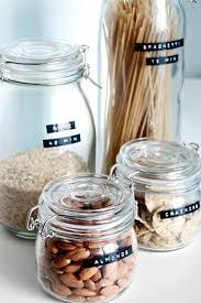 bocaux decoration cuisine idée relooking cuisine bocaux en verre pour la cuisine bocaux en