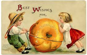 vintage halloween clip art vintage thanksgiving image cute kids with pumpkin vintage