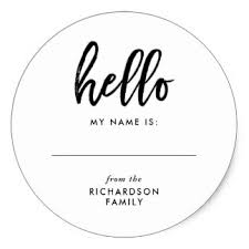 name tags for reunions family reunion stickers zazzle
