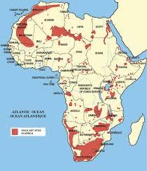 Uganda Africa Map by Rock Art Distribution Map Paleo Rock Art Pinterest Rock Art