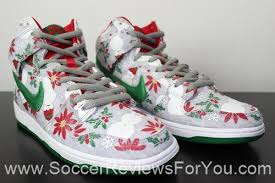 nike sb dunk high concepts ugly christmas sweater video review