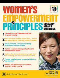women s endorse the women s empowerment principles un global compact