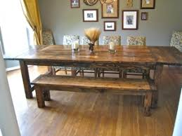 How To Make A Rustic Dining Room Table Large And Beautiful - Build dining room table