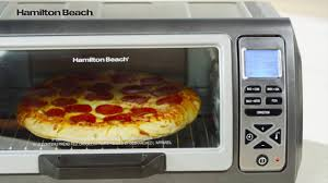 Hamilton Beach 6 Slice Convection Toaster Oven 31128c Easy Reach Digital Convectionoven Youtube