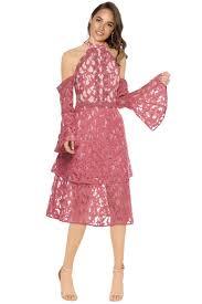 halter dress talulah genre halter dress coral all the dresses