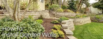 how to install garden walls burnco landscape supplies