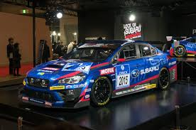 subaru bbs 2015 subaru racers revealed wrx sti for nurburgring 24h and brz