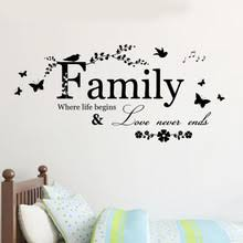 buy family wall phrases and get free shipping on aliexpress com