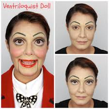 ventriloquist doll makeup easy youtube