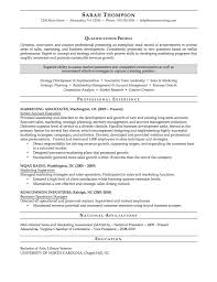 Sample Business Administration Resume by Download Marketing Administration Sample Resume