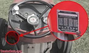 tractordata com massey ferguson 235 tractor information