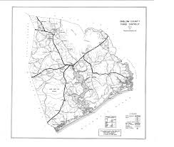 Road America Track Map by North Carolina County Map