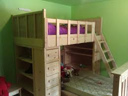 Cabin Bunk Bed White Cabin Bunk Beds Diy Projects
