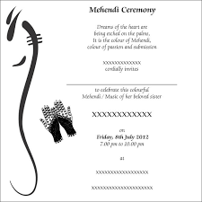 mehndi card wording order and printing wordings mehendi invitation mumbai india
