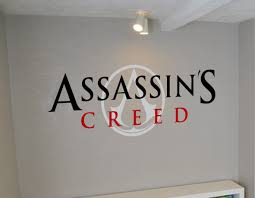 assassin u0027s creed wall art decal assassin u0027s creed wall sticker
