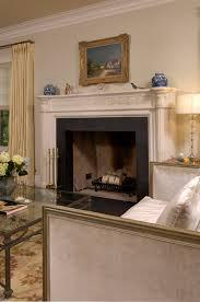 Room Fireplace Custom Home U2013 American Vernacular In Arlington Virginia Bowa