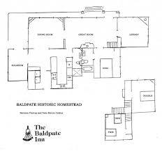 Historic Floor Plans Baldpate Floorplans U2013 Baldpate