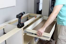 How To Build An Office Desk Building Office Cabinets Gray House Studio