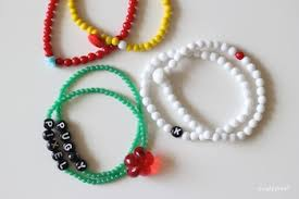 make beaded bracelet images How to make a bracelet things to make and do crafts and