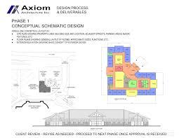 Axiom Architecture Inc  Phase 1  Conceptual Schematic Design