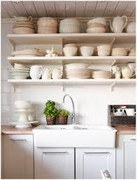open shelves in kitchen ideas kitchen galley open shelving normabudden com