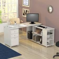 Desk For Desktop Computer by Hidden Desk Cabinet Wayfair