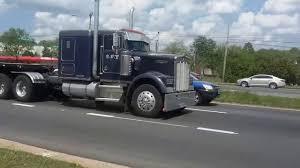 w900b kenworth trucks for sale kenworth w900l and w900b with train horns youtube