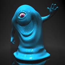 bob monsters aliens rigged 3d model cgtrader