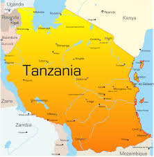 Lake Victoria Map Tanzania Map With Cities Blank Outline Map Of Tanzania