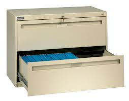 Lateral Filing Cabinet 2 Drawer by Tennsco Lateral Files
