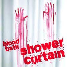 Blood Shower Curtain Halloween Gift Ideas U2013 Mzube