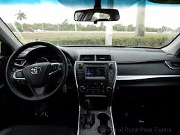 lexus service center west palm beach 2016 used toyota camry 4dr sdn i4 auto se at royal palm toyota