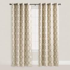 Lattice Design Curtains One Of My Favorite Discoveries At Worldmarket Mocha Brown
