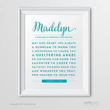 personalized religious gifts andaz press personalized religious wall nursery poster sign