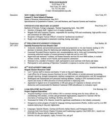 Military Resume Format Military To Civilian Resumes Sample Resume For Military Members