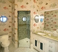 beach themed bathroom theme decor for design ideas cool ocean