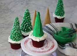 christmas tree cupcakes preppy kitchen