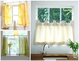 Small Kitchen Curtains Decor Best 25 Kitchen Window Curtains Ideas On Pinterest Small Fabulous