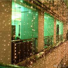 Solar White Christmas Lights by Cheap 3m 3m 300 Leds Window Curtain Icicle Lights String Fairy