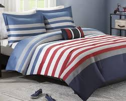 Blue Striped Comforter Set Sailor Stripe Comforter Set U2013 Beach House Linens