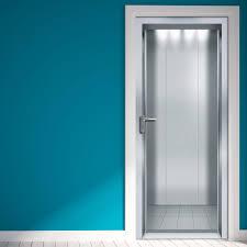 adesivi porta door elevator lift ascensore vinyl door sticker adesivo da porta